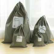 RuiChy 4 in 1 Universal Waterproof Watertight Drawstring Storage Bag for Home Outdoor Travel