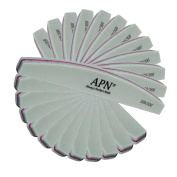 Pack of 12   12 x Always Perfect Nails Green Nail Buffer 300   300 Grit