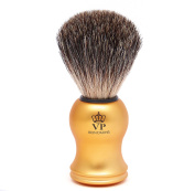 Shaving Brush Royal VP - with genuine, pure badger hair - handle gold