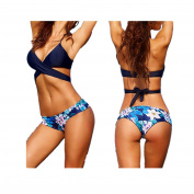Swimwear Bikini Longra® 1 Set Women Flower Print * Push-Up Padded Bra Swimsuit Bikini Swimwear ! ! Bandage Design