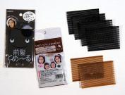 Magic Hair Makeup Sticker Hair Accessories for Girls Assorted Brown Black Colour 8.6cm X 5.8cm