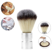 Mmrm Badger Shaving Brush-Aluminium Alloy Handle- Engineered for the Best Shave of Your Life-Silver