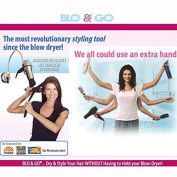 Blo and Go by Laurie Coleman - Portable Hair Dryer Holder by TVTime Direct