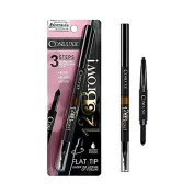 Cosluxe Cosmetics 123 Brow 3 Steps Waterproof Eyebrow Pencil #Caramel