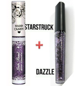 2 Hard Candy Glitter Mascara STARSTRUCK & Walk the Line eyeliner DAZZLE purple