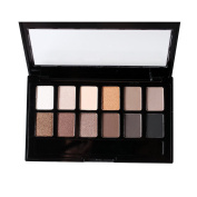 COTON 9.6g Eyeshadow Palette Makeup 12 Colours Pearl Light Matte Multi - Colour Eye Shadow Plate Kit