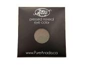 Pure Anada Pressed Powder Natural Mineral Eye Shadow Pewter Deep Silver