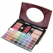 Makeup Kit G1688 ( 34xe/s, 3xblusher, 2xpressed Pwd, 1xmascara, 4xlipgloss, 1xe/pen, 4xapplicator ) -
