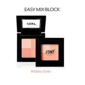 Pony X Memebox NEW Easy Mix Block Blush #Galaxy Coral
