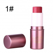Sunsent Skin Care Cosmetics Natural Face Cheek Blush Stick
