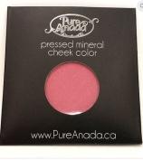 Pure Anada Pressed Powder Mineral Blush Strawberry Field Fuschia Pink