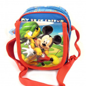 Shoulder bags 'Mickey' blue tutti frutti.