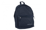 Backpack man woman LANCETTI bag free time school office blue M283T