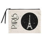 Meeting of the National Museums – Grand Palais – Pencil Case Pouch Stars Paris Eiffel Tower 100% Cotton
