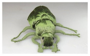 Soft Toy Beetle green 19cm . [Toy]