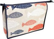Vagabond Bags Go Fishing Giant Holdall Toiletry Bag, 31 cm, Multicolor
