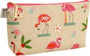 Vagabond Bags Florence Flamingo Sack Toiletry Bag, Medium, 26 cm, Multicolor