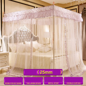Double Household Stainless Steel Bracket Mosquito Net
