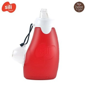 Sili Squeeze – 120ml (Leak-Proof) Reusable Silicone Quetschie Quetschb Pouches To Fill Yourself, BPA, PVC And Phthalate Free