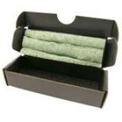 10PCS Conductive Corrugated Mailers with ESD-Safe Green/Black Foam, 3-1/2 x 3.2cm x 2.5cm I.D.