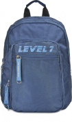 LEVEL 7, Backpack blue, 31 x 41,5 x 14 cm