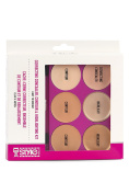 Correcting Concealer, Contour & Highlighting Foundation Palette - Light to Medium with Applicator