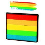 Silly Farm Rainbow Split Cake - Holly Berry