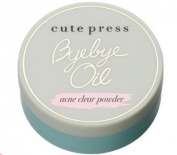 Cute Press Bye Bye Oil Acne Clear Powder 6 g.