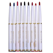 Professional Makeup 9 Colours Waterproof Eyeliner Pencil Long Lasting Eyebrow Pencil Set Lip Liner Pen Cosmetics Kits