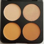 Prolux Professional 4 Colour Contour Powder Makeup Palette