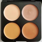 Prolux Professional 4 Colour Contour Cream Makeup Palette