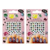 Allydrew Cat Crazy Nail Stickers