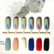 NICOLE DIARY 0.5g Holographic Rainbow Laser Glitter Powders Manicure Nail Art DIY Decoration
