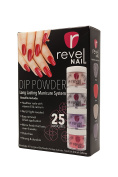 Revel Nail Dip Powder 4 Colour Box Kit