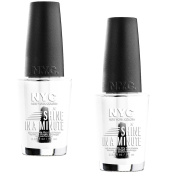 2pcs New York Colour In A New York Colour Minute Quick Dry Nail Polish, Grand Central Station, 0.33 Fluid O