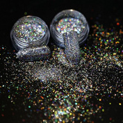 Azure Beauty Star Chameleon Nail Glitter Paillette Manicure Brocade Powder Transparent Mirror Gold Sequins Nail Art Decoration