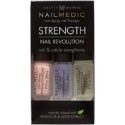 Pretty Woman NAIL MEDIC Nail Revolution STRENGTH Nail & Cuticle Strengthener with Argon Oil & Algae Extract