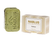 Sage | Authentic Nablus Olive Oil Soap | Certified Organic and Vegan | All variations listed