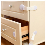 VWH 10pcs Child Safety Cupboard Locks Baby Strap Lock Latch For Drawer Cabinet Door