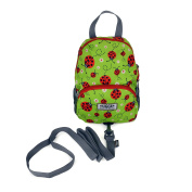 Hugger Ladybirds Children's Backpack with Harness - 1-4 years