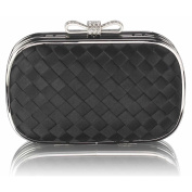 LeahWard Women's Stripe Tartan Clutch Evening Bag Purse For Bridal Night Out Prom CWE0036