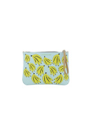 LEO STUDIO DESIGN WOMEN'S SS17010BANANAS MULTICOLOR LEATHER CLUTCH