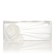 NEW FLOWER SATIN BRIDAL WEDDING CLUTCH BAG EVENT OCCASSION PARTY COLOURS FLORAL