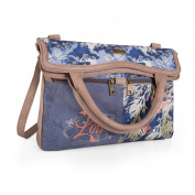 LOIS - PALM expandable shoulder bag