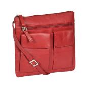 Ladies Real Leather Cross Body Messenger Shoulder Portable Sling Bag Casual Travel HLG457