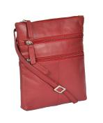Ladies Real Leather Cross Body Messenger Shoulder Sling Bag Casual Travel HLG113
