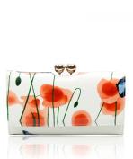 Ladies Women's Fashion Designer Patent Butterfly Print Shoulder Bag Hot Selling Shinny Cross Body Handbag
