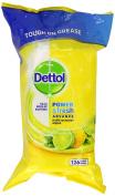Dettol Power and Fresh Citrus Zest 126 Wipes