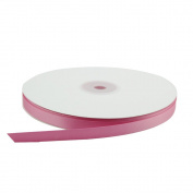 1cm Wide Double Face Polyester Satin Ribbon - 50 Yard, Hot Pink