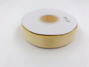 yellow. High End Thick . 2.5cm 50 Yards Roll Ribbons